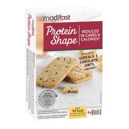 Protein Shape Biscuits Cereals And Chocolate Chips