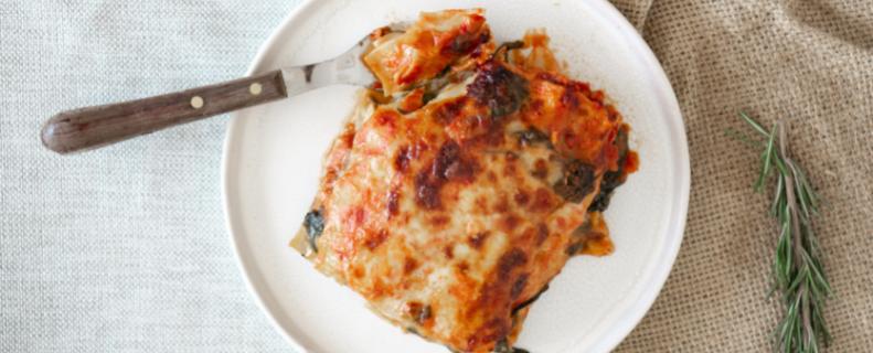 Makkelijke ratatouille lasagne