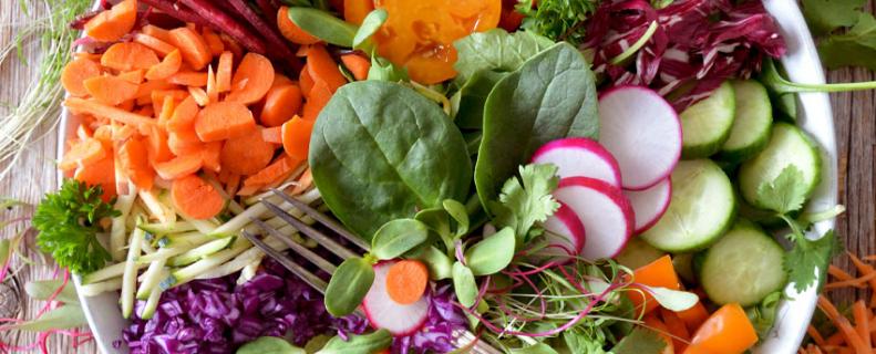 salade van groenten